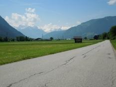 Radweg nach Saalfelden Richtung Maishofen