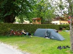 Fusch: Camping beim Hotel Lampenhäusl