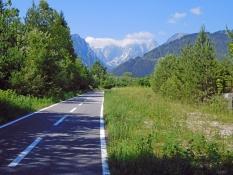 Pontebbana-Bahnradweg vor Tarvisio