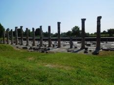 Antike Forum von Aquileia