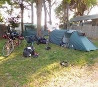 vor Grado Camping Paradiso (ganze Insel)