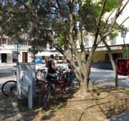 Grado: Piazza Ventisei Maggio (Fahrradparkplatz)