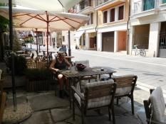 Grado: Via Gradenigo (Kaffeepause)
