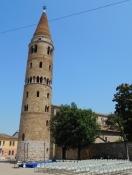 Caorle: Duomo St. Stephan, Campanile Rotondo