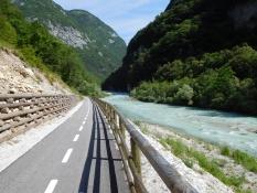 Radweg nach Castellavazzo: Piave