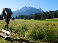 Pustertal Radweg beim Wildpark Toblach: Haunhold