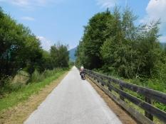 Eisack-Radweg vor Sterzing