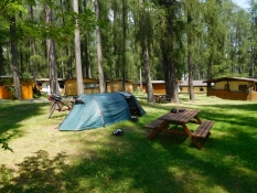 Gasteig: Camping Gilfenklamm