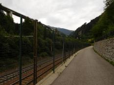Eisack-Radweg vor Gossensass
