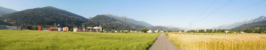 Innradweg Volders - Wattens