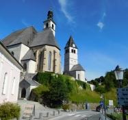 Kitzbühel: Liebfrauenkirche, Stadtpfarrkirche Sankt Andreas