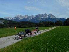 vor Oberndorf: Wilder Kaiser