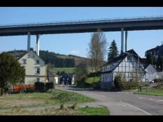 Autobahn-Brücke in Wiehl-Weiershagen