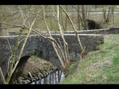 Fluss-Brücke in Reichshof-Grünenbach