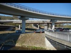 Autobahn-Brücke in Dillenburg