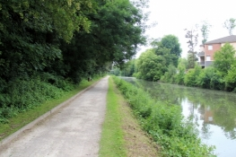 At the Canal de Roubaix
