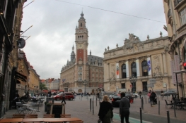 Lille, Petit Place with Town Hall and Opera