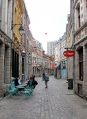 Lille, narrow streets in the Old Town