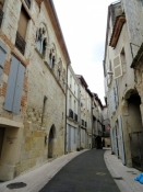 Agen, street in the Old Town
