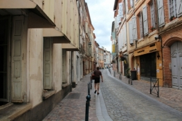 In the Old Town in Moissac
