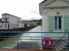 Moissac, Canal latéral à la Garonne