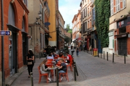 Toulouse, street in tne Old Town