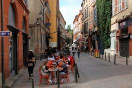Toulouse, Straße in der Altstadt