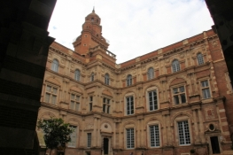 Toulouse, buildings on Place Assezat