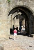 Carcassonne, Haupttor in die Cité