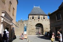 Carcassone, Cité, gate to the Château Comtal