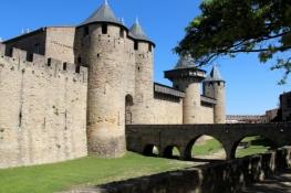 Carcassone, Cité, Château Comtal
