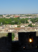 Carcassone, view from the Cité