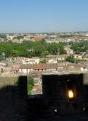 Carcassonne, Blick von der Cité