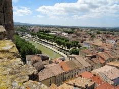 Narbonne, view from the Donjon