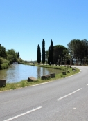 Canal du Midi east of Poilhes