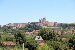 Béziers, former Cathedral Saint-Nazaire and Episcopal Palace