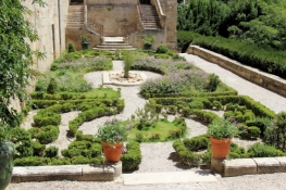 Béziers, garden terraces of the Episcopal Palace