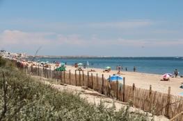 Strand near Carnon-Plage