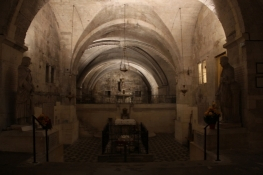 Church of Saint-Gilles, crypt