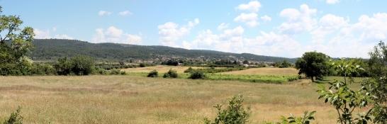 Landscape near Tavernes