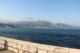Bay with Menton in the background