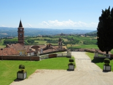 View from Castello di Govone