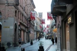 Straße in Asti