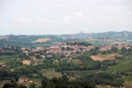 Landschaft in der Nähe von Vignale