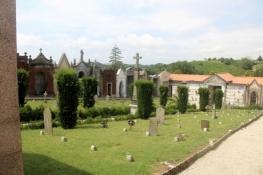 Kolumbarien auf dem Friedhof von Camagna
