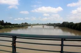 Fluss Po in Casale