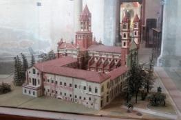 Vercelli, Basilika SantʹAndrea (Modell)