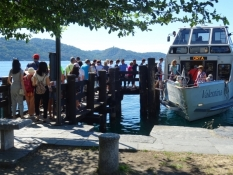 Boarding on Isola San Giulio