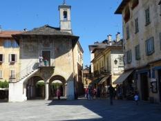 Main square in Orta