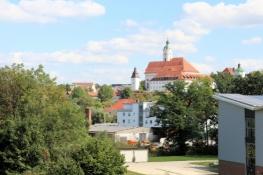 Blick zurück auf Günzburg